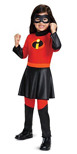Disney Pixar Violet Incredibles 2 Jumpsuit w/Skirt Deluxe Girls' Costume