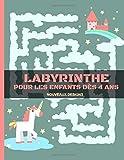 Labyrinthes pour les enfants dés 4 ans - NOUVEAUX DESIGNS: Vive les vacances ! Fraîches labyrinthes variés à découvrir , Cahier d'activités pour enfants   idée cadeau enfant