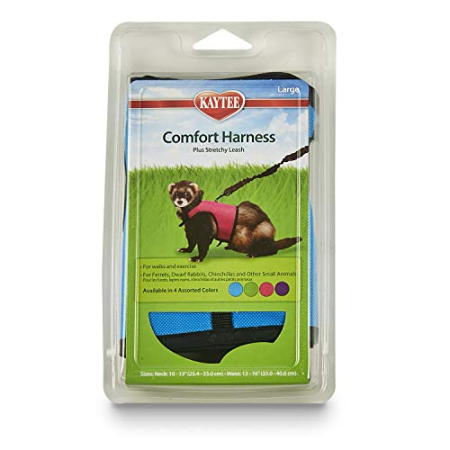 Kaytee Comfort Harness & Stretchy Leash, Large