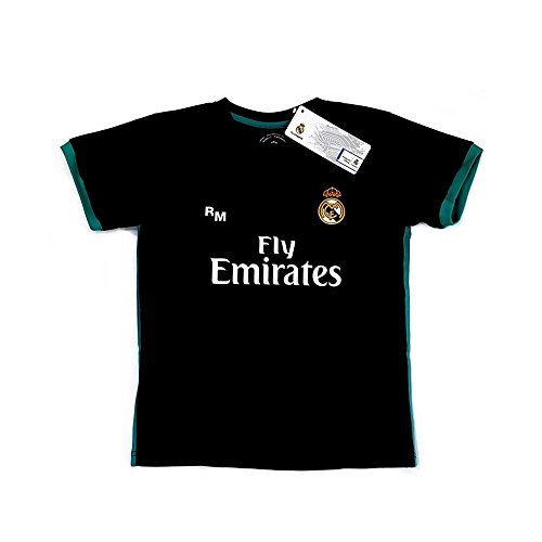 shirt officiel du Real Madrid maillot de football junior [AB3905]