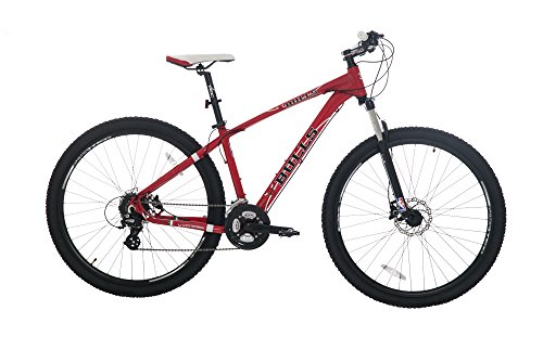 Lucky Explorers NBA Chicago Bulls Adult Bicycle, Medium, Red/Black/White image