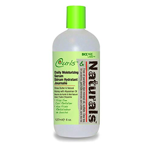 Biocare Labs Curls & Naturals Curl Daily Moisturizing Serum, 6 Oz.