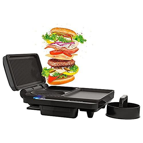 Grill Burger 3 em 1, Preto, 220v, Cadence
