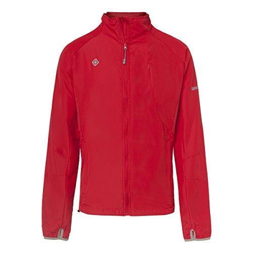 IZAS Sidney Veste imperméable pour Courir Homme, Rouge, FR (Taille Fabricant : XL)
