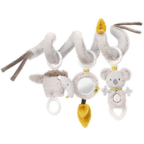 Fehn Activity - Espiral de tela para agarrar y sentirse para cama, cochecito, parque infantil ajustable, para bebés y niños pequeños a partir de 0 meses