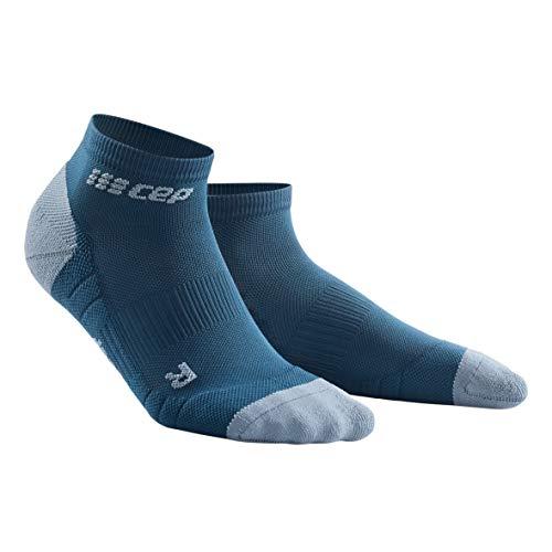 CEP – LOW CUT SOCKS 3.0 für Damen | Kurze Sportsocken für dein Workout in blau / grau | Größe III