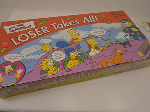 Simpson's Losers Take All Board Game by Rose Art Industries Inc.