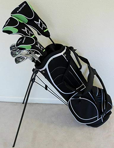 "Tall Mens Golf Set Taylor Fit Custom Made Clubs +1"" Length Complete & Deluxe Stand Bag"