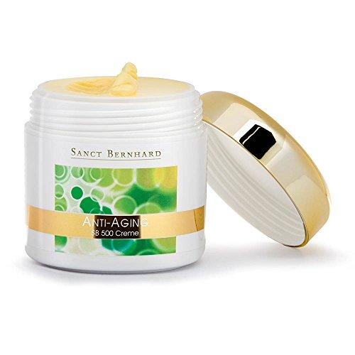 Sanct Bernhard Anti-Aging SB 500 Creme mit Q10, Bioflavonoiden, Zink, Selen 100 ml