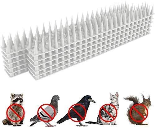 Frofine 3.6 Metri Spaventapasseri Anti Piccioni Plastica Protezione per Uccelli Controllo degli Uccelli Spaventa Piccioni Dissuasore Piccioni Repellente Uccelli Trappola per Uccelli Scaccia Piccioni