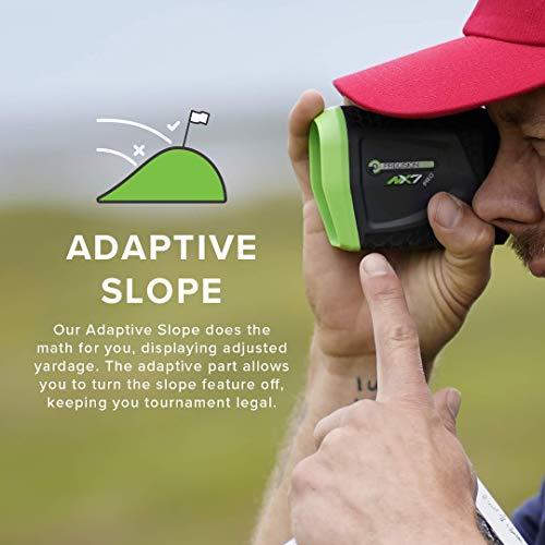 Precision Pro Golf NX7 Pro Slope Golf Laser Rangefinder with Slope
