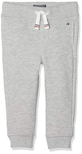 Tommy Hilfiger Jungen Boys Basic Sweatpants Sweatshirt, Grau (Grey Heather 004), One Size (Herstellergröße: 80)