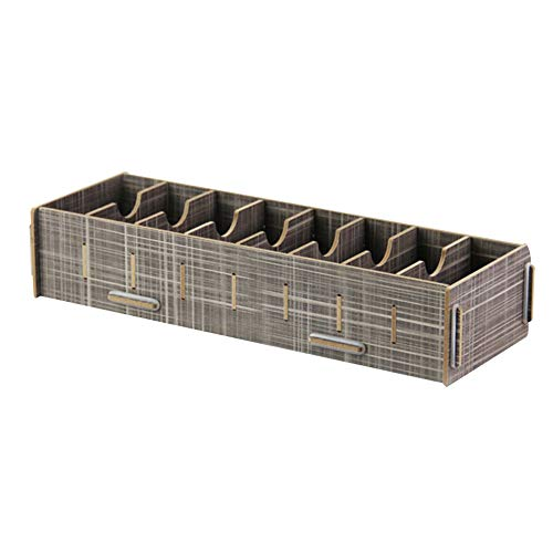 ZCF Tarjeta de visita multi-rejilla caja de oficina tarjeta de acabado de...