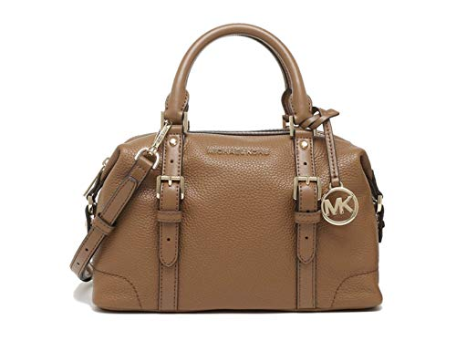 Michael Kors Ginger Small Duffle Leather Satchel - Luggage