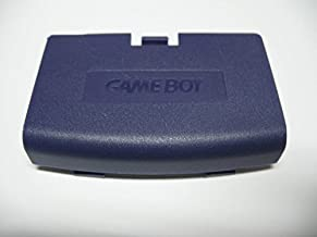 Dark Blue Battery Cover Case Back Door Part for Nintendo Gameboy Advance GBA