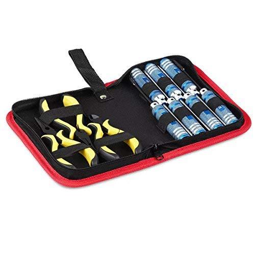 LIZONGFQ Juego de Herramientas de reparación 10 en 1, Caja, Destornillador Hexagonal, alicates de Corte para Modelos RC