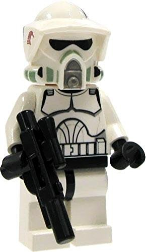 Star Wars Lego Loose Mini Figure EPII Clone Wars ARF Clone Trooper with Blaster