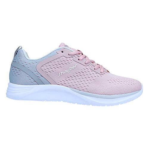 Jhayber Comfort Feel Sra V21, Zapatillas Deportivas Mujer, Pink, 41 EU