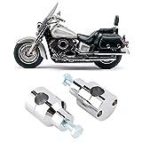 SALALIS Abrazadera de Manillar para Suzuki, Elevador de Manillar portátil de fácil instalación y Duradero conservante para Motocicleta
