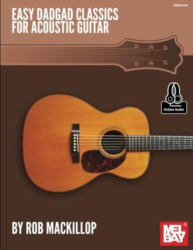 Easy DADGAD Classics for Acoustic Guitar