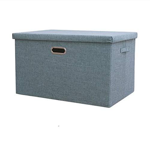 ETRZ Faltbare Kleideraufbewahrungsbox aus Stoff (grün 44 * 29 * 27 cm)