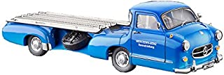 CMC-Classic Model Cars 1955 Mercedes-Benz Racing Transporter, Blue Wonder