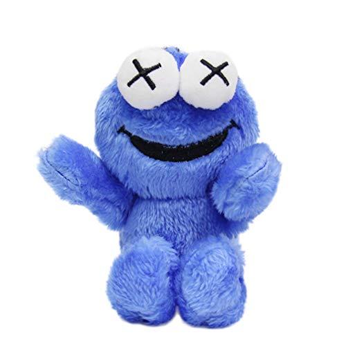 Comic Sesame Street Plüsch-Schlüsselanhänger, Schlüsselanhänger, Netz-Anhänger, Rot, Elmo-Puppe, Spielzeug, Tasche, Ornamente
