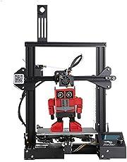 طباعة كريلتي اندر 3 ثلاثية الابعاد للالومنيوم نوع اصنعها بنفسك مع خاصية استئناف الطباعة 220×220×250 ملم
