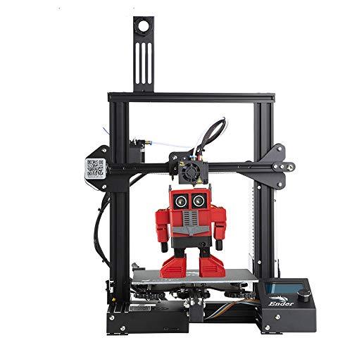 Creality Ender 3 3D Printer Aluminum DIY Kit with Resume Printing Function 220x220x250mm