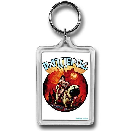 Battlepug Chaveiro Keybattpugwarrior Battlepug Guerreiro Stance Lucite
