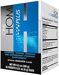 Omnilife HOM Oml Plus Homo Men Hombre, Box with 30 Sachets (180G), Shipped by Liss
