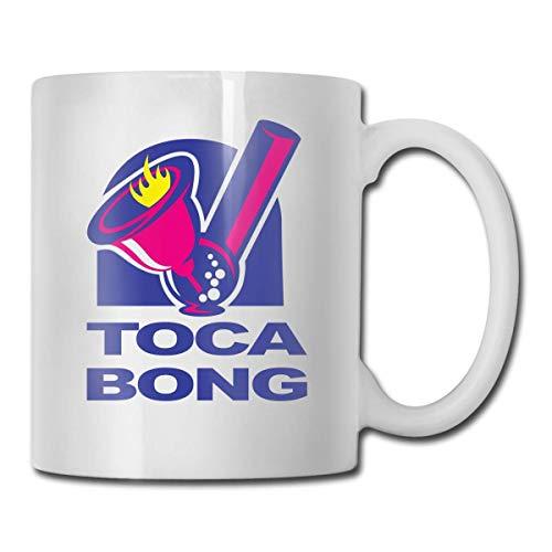Jard-Baby Toca Bell Bong Lustige Tasse Kaffee Tee Kakao Tasse Keramik Geburtstag Urlaub Büro Jungen und Mädchen Geschenke Personalisierte Sammlung Freizeit Dekoration Zuhause