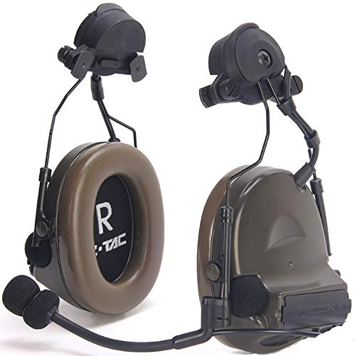 Z-TAC Official Store】 Z-Tactical Comtac II Tactical Headset Z041 + Wendy Drehbarer Adapter Z149 Noise Canceling Sound Collection G:1 Non-Mil-Spec