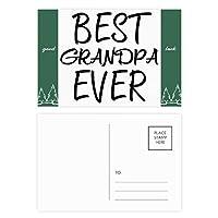 おじいちゃんは、これまでに最高の引用 グッドラック・ポストカードセットのカードを郵送側20個