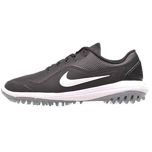 Nike Men's Lunar Control Vapor 2 Golf Shoes, Black/White/Cool Gray, 10 M US