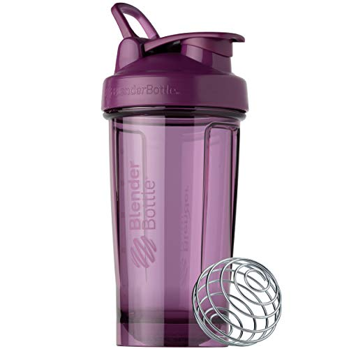 BlenderBottle Shaker Bottle Pro Series Perfect for Protein Shakes and Pre Workout, 24-Ounce, Color Berry