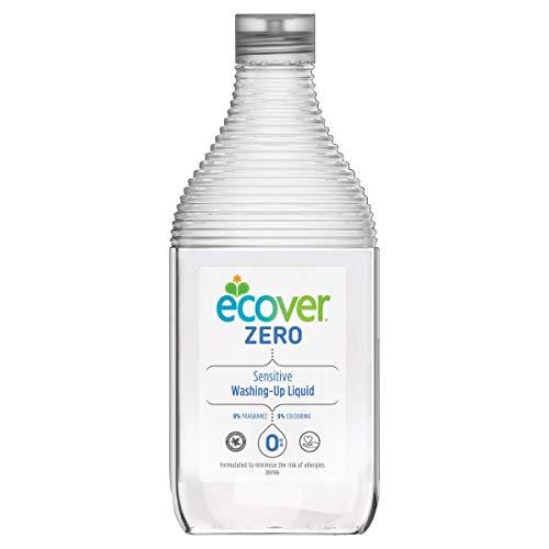 Ecover mano de lavavajillas Zero, 450 ml