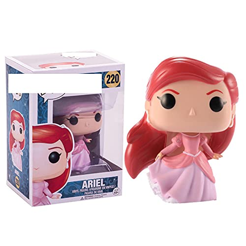 Figuras Pop Princesa Muñeca Ariel # 220 Figura De Acción De Vinilo Juguetes De Modelos...