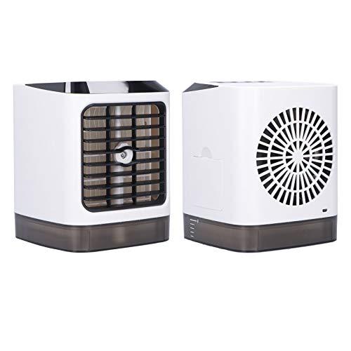 Gedourain Ventilador De Enfriamiento, Tres Engranajes Velocidad del Viento Ajustable Diseño De Luz Nocturna Enfriador De Aire Batería De Larga Duración para Proporcionar Un Mejor Aire Y Disfrutar del