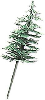 Oasis Supply Evergreen Trees Cupcake/Cake Decorating Picks, 2-Inch, Green, Set of 12
