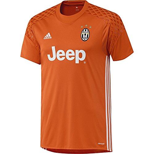 adidas Herren Juventus Turin Torwarttrikot Replica, Orange/White/Borang, XL, AP8910