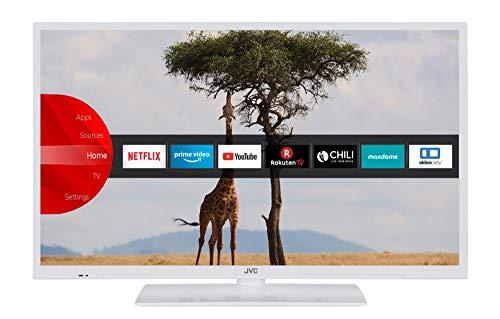 JVC LT-32V54LWA 81 cm / 32 Zoll Fernseher (Smart TV inkl. Prime Video / Netflix / YouTube, HD-Ready, Bluetooth, Triple-Tuner)