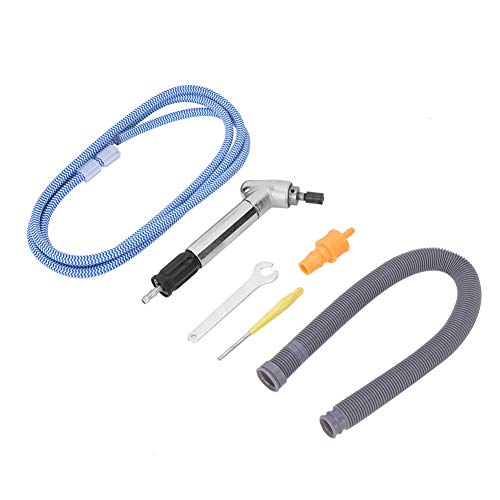 Kit de amoladora neumática para amoladora neumática, amoladora neumática de ángulo de 120 grados, cabezal de amoladora neumática, 52500 rpm