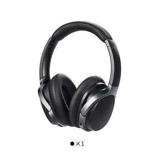 IUYT Controllo Bluetooth cuffie ANC tocco Supporto NFC accoppiamento e l'audio aptX decodifica auricolare senza fili Smart Touch (Color : W860NB Black)