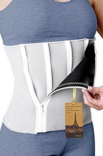 "35""-55""waistline Neoprene 5 Zipper Adjustable Weight Loss Slimming Belt Waist Trimmer"