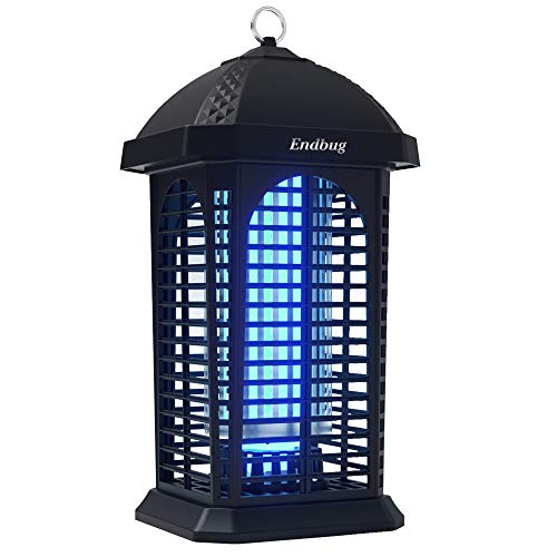 Endbug Bug Zapper Outdoor Insect Killer , 25W 4200V Waterproof Electric Mosquito Fly Trap for Home Garden Patio Backyard