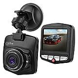 MASO Dash Kamera 2,4 ″ 1080P HD Auto DVR Kamera Dash Cam Videorecorder Nachtsicht G-Sensor 170 ° Nachtsicht Dual Lens Dash Cam Vorder- und Rückkamera