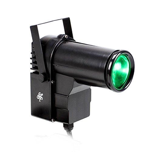TSSS RGBW LED Strahler 10 Watt Pinspot DJ Effekt Bühnenbeleuchtung DMX Lampe Licht Hochzeit Familie Geburtstags Party Feiern Veranstaltung Lichteffekt