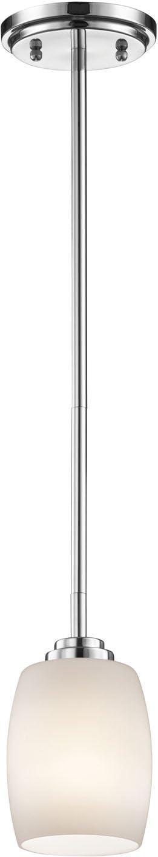 Kichler Dallas Mall 3497CH Mini Pendant Lighting Chrome x 1-Light Fashion W 5