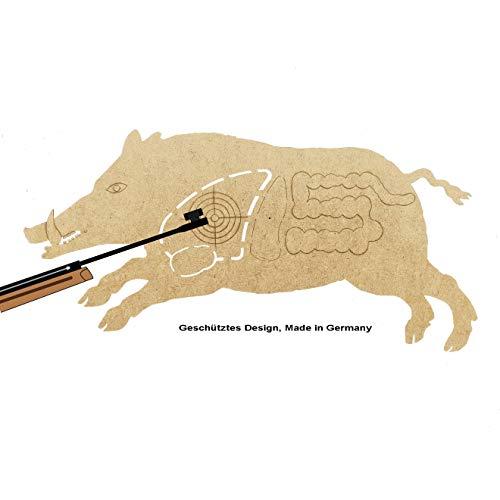 MomoMoments Diana Keiler Rudi de madera para rifle de aire comprimido 2.0,...